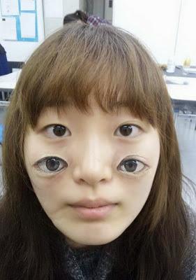 Dicas de tatuagens as melhores ilusão, 4 olhos
