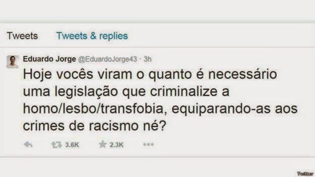 Levy Fidelix homofóbico