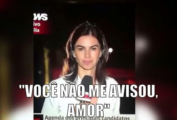 Globo news VOCÊ NÃO ME AVISOU, AMOR!